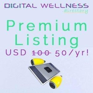 digitalwellness directory premium listing discount