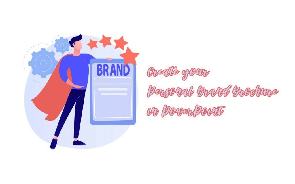 personal brand brochure